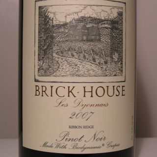 brick house les dijonnais pinot noir 2007